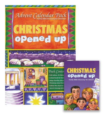 Christmas Opened Up, Advent Calendar Pack  -     By: Alison Mitchell