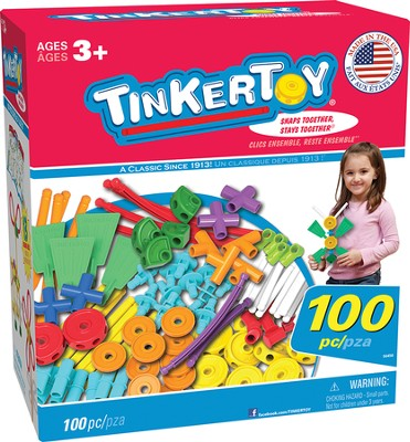 TinkerToy Vehicles Building Set   -