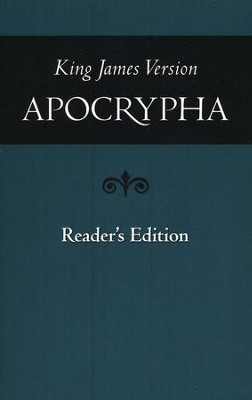 KJV Apocrypha, Reader's Edition   -