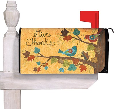 Give Thanks, Mailbox Cover  -     By: Annie LaPoint