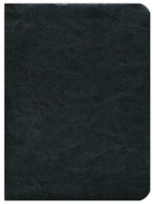 Fire Bible, Global Study Edition genuine Leather black - Slightly Imperfect  -