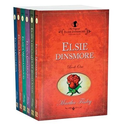 Elsie Dinsmore Collection, volumes 1-23  -     By: Martha Finley