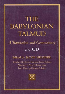 The Babylonian Talmud: A Translation and Commentary  on CD-ROM  -     Edited By: Jacob Neusner     By: Edited by Jacob Neusner