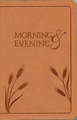 Morning and Evening, KJV Edition--soft leather-look, dark tan  -     By: Charles H. Spurgeon