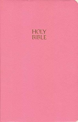 KJV Gift & Award Bible, Imitation leather, Pink, Case of 24  -