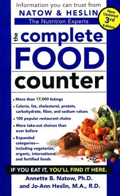 The Complete Food Counter 3rd Edition, Fully Revised and Updated  -     By: Annette B. Natow Ph.D., Jo-Ann Heslin M.A.