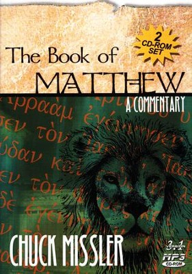 Matthew Commentary          - Audiobook on MP3 CD-ROM  -     By: Chuck Missler