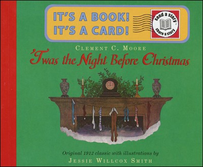 'Twas the Night Before Christmas Send-A-Story  -     By: Clement C. Moore     Illustrated By: Jessie Wilcox Smith