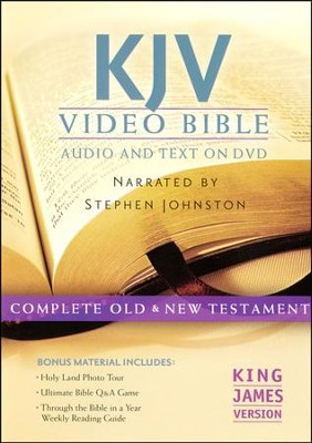 KJV Video Bible  - Slightly Imperfect  -     By: Narrated by Stephen Johnston