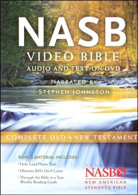 NASB Video Bible    -     Narrated By: Stephen Johnston     By: Narrated by Stephen Johnston