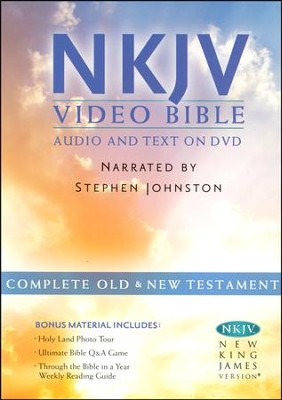 NKJV Bible on DVD   -     Narrated By: Stephen Johnston