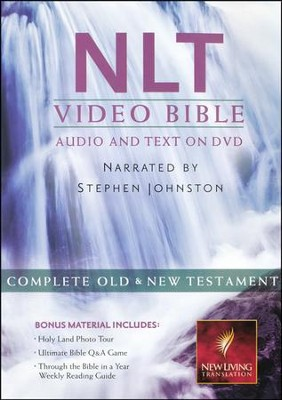 NLT Video Bible DVD   -     Narrated By: Stephen Johnston
