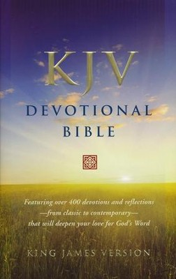 KJV Devotional Bible - Hardcover   -