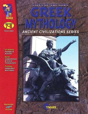 Greek Mythology: Tales of the Gods Gr. 7-8  -