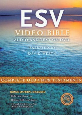 ESV Video Bible: Audio and Text on DVD, Voice Only DVD  -     Narrated By: David Heath     By: Narrated by David Heath