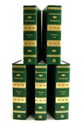 Spurgeon's Sermons, 5 Volumes   -     By: Charles H. Spurgeon