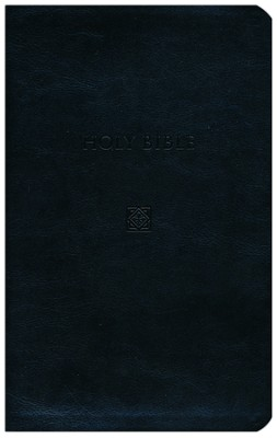 KJV Devotional Bible - Flexisoft Leather, Black   -