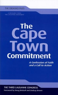The Cape Town Commitment   -     By: Christopher J. H. Wright