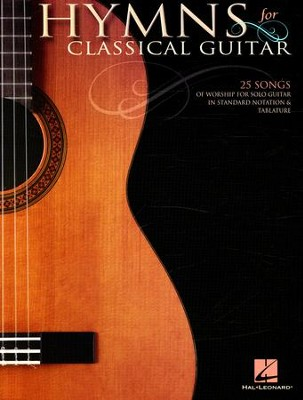 Hymns for Classical Guitar (Guitar Solo)   -