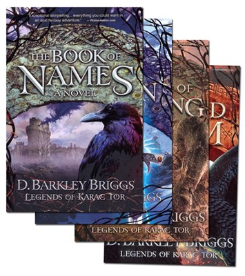 Legends of Karac Tor Series Volumes 1-4  -     By: D. Barkley Briggs