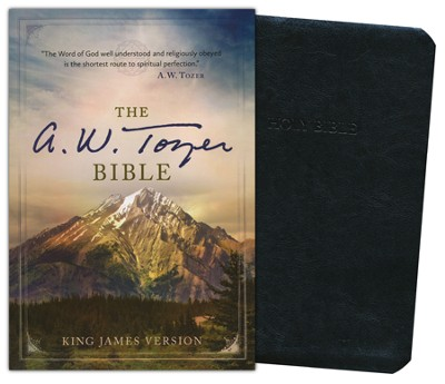 The A. W. Tozer Bible: KJV Version, Flexisoft leather black thumb-indexed  -