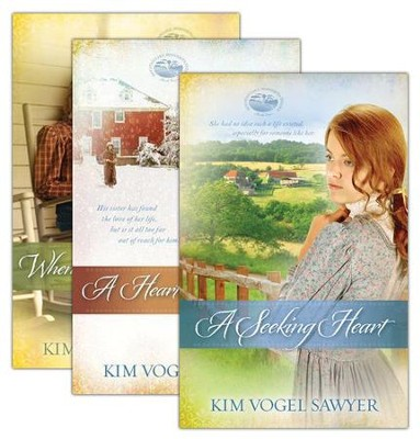 Mountain Lake Minnesota Series; Volumes 1-3   -     By: Kim Vogel Sawyer