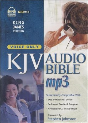 KJV Complete Bible, Voice-Only Edition on MP3--3 CDs   -     Narrated By: Stephen Johnston