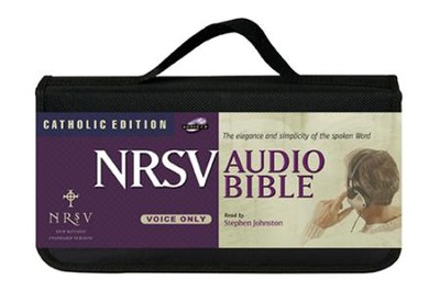 NRSV Audio Bible Catholic Edition on CD    -     Narrated By: Stephen Johnston