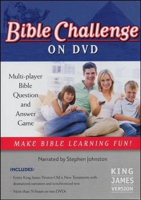 Bible Challenge on DVD   -     Narrated By: Stephen Johnston