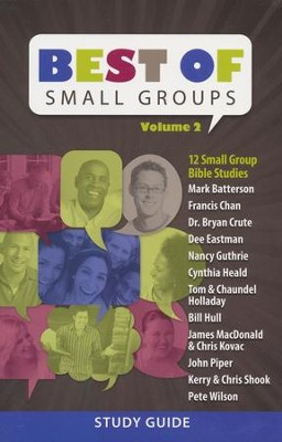 Best of Small Groups Study Guide, Volume 2   -
