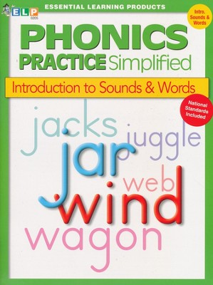Phonics Practice Simplified Book A: Introduction to Sounds & Words  -