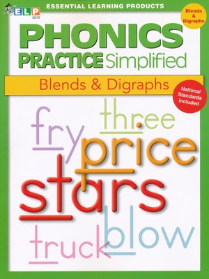 Phonics Practice Simplified Book F: Blends & Digraphs   -