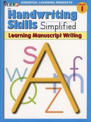 Handwriting Skills Simplified Level A: Learning Manuscript Writing  -
