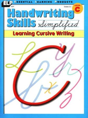 Handwriting Skills Simplified: Learning Cursive Writing Level C   -