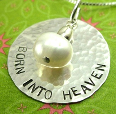 Born into Heaven Sterling Silver Necklace  -     By: Deirdre Olson