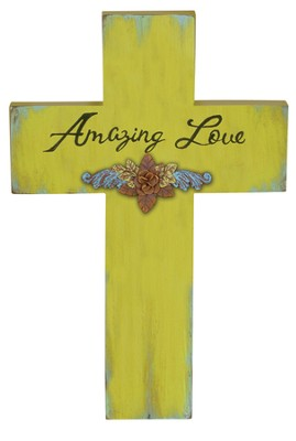 Amazing Love Wall Cross  -
