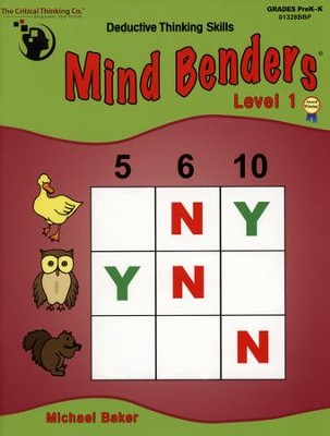 Mind Benders Beginning Book 1   -     By: Michael Baker
