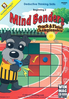 Mind Benders Beginning 2 on CD-Rom   -