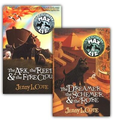 Amazing Tales of Max & Liz, Volumes 1 & 2  -     By: Jenny Cote