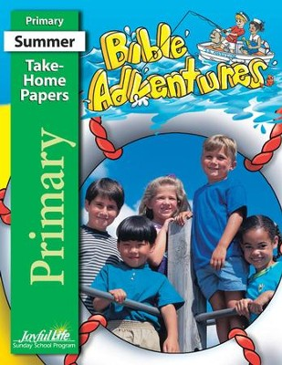 Bible Adventures Primary (Grades 1-2) Take-Home Papers   -