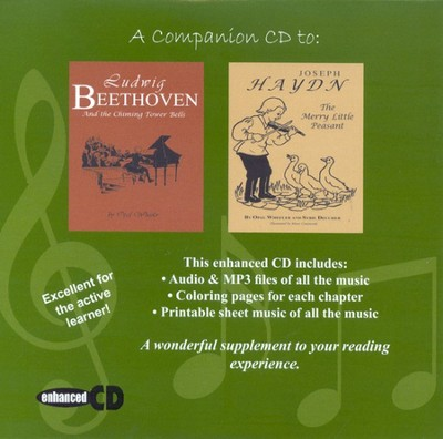 Beethoven / Haydn Companion Enhanced CD (MP3)  -     By: Zeezok Publishing