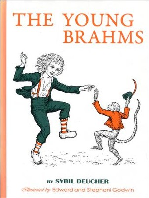 The Young Brahms - Hardcover  -     By: Opal Wheeler, Sybil Deucher