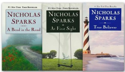 The Nicholas Sparks Holiday Collection - True Believer, At First Sight and A Bend in the Road  -     By: Nicholas Sparks