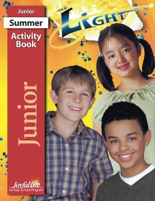 The Light Junior (Grades 5-6) Activity Book   -