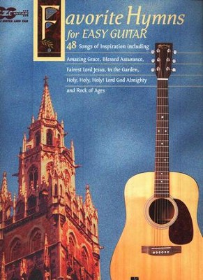 Favorite Hymns For Easy Guitar   -     By: Hal Leonard
