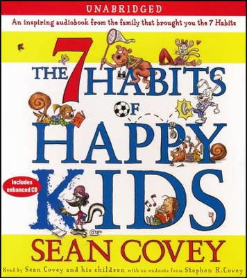7 Habits of Happy Kids, Audio CD   -     By: Sean Covey
