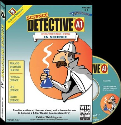 Science Detective A1 on CD-Rom   -