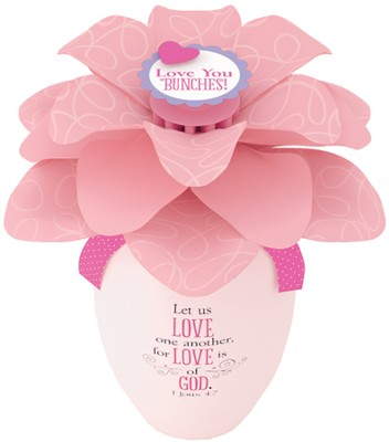 Let Us Love, I John 4:7, Blooming Flower Expressions  -
