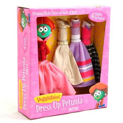 Dress Up Petunia Doll Set   -