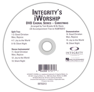 iWorship Christmas (CD Trax)   -